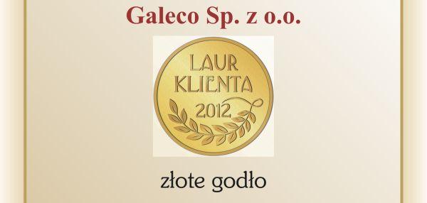 Laur Klienta dla Galeco – systemy rynnowe