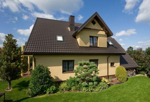 Wybieramy stalowy dach dla domu jednorodzinnego