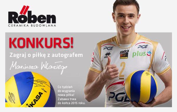 Mariusz Wlazły – wygraj piłkę z autografem gwiazdy Reprezentacji Polski