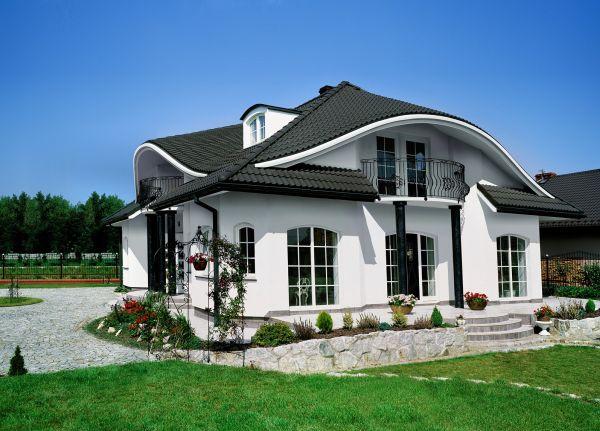 Czerń, najmodniejszy kolor dachu
