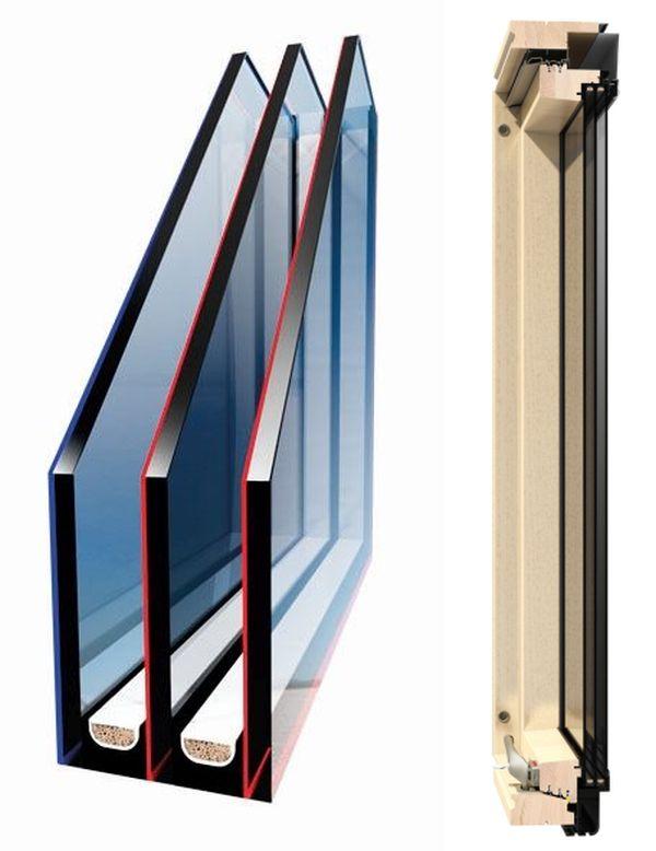 Pakiety trzyszybowe w oknach dachowych