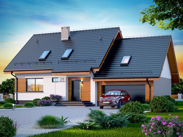 Jakie domy budowali Polacy w 2017 roku? Zobacz najpopularniejszy projekt domu jednorodzinnego