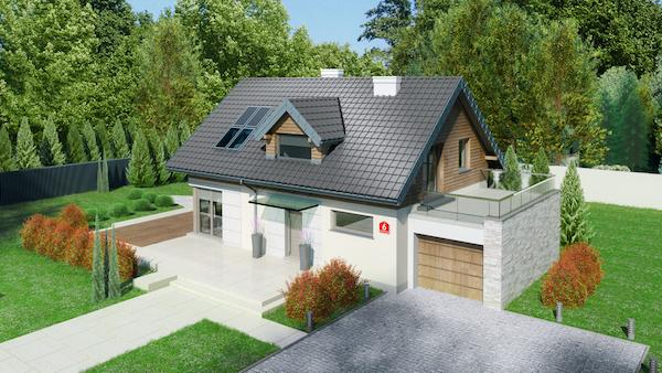 Jak wybrać projekt domu na działkę z wjazdem od południa?